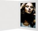 Portraitmappe  weiß matt 20x30cm
