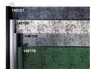 Granit schwarz auf blau 2,1mx10,8m