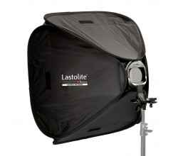 Lastolite  Ezybox Hotshoe 54x54 cm inkl. Blitzhalterung