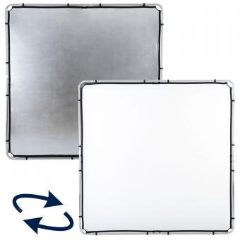 Lastolite Skylite Bespannung Large 2x2m silber/weiß