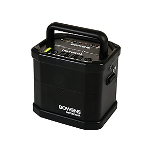 Bowens Travelpak mit High-Capacity-Batterie