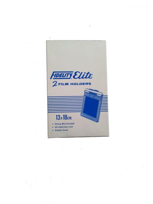 Fidelity Planfilm Doppelkassette 13x18 cm
