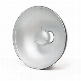 "Bowens Beauty Dish silber 53,5cm inkl.""Shower Cap"""